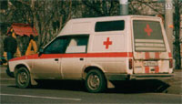 Москвич АЗЛК-2091 Скорая помощь, Москваб 2003 (Moskvitch AZLK-2901, ambulance, Moscow, 2003)