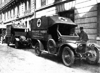���������� ������� �������� ���������������� ������                Ambulance Russe 1914 (Daimler Coventry 15HP, Ambulance Russe, WWI 1914)