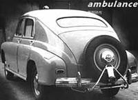Санитарный автомобиль ФСО Варшава, Польша (FSO Warshawa ambulance, Poland)