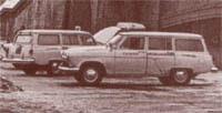 ГАЗ-22Д - санитарный автомобиль (GAZ-22D, 1969)