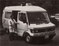 Мерседес-Бенц токсикология реанимобиль, Москва 1990-е (Mercedes-Benz ambulance, Moscow)