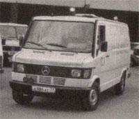 Мерседес-Бенц,  линейная Скорая помощь, 1994 (Mercedes Benz, ambulance, Moscow, 1994)