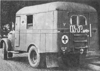 АС-3 (ГАЗ-51 с санитарным фургоном) / (AS-3 military ambulance based on GAZ-51 ) 1965?