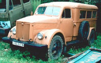 Санитарный ПАЗ-653 на шасси ГАЗ-51 (PAZ-653 based on GAZ-51 ambulance) 1956