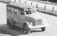 Санитарный ПАЗ-653 на шасси ГАЗ-51 (PAZ-653 based on GAZ-51 ambulance) 1947?