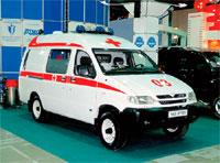 "УАЗ-27722 ""Симба"" Скорая помощь (UAZ-27722 SIMBA Ambulance"