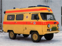 УАЗ-ТАМПО реанимобиль (UAZ-TAMPO ambulance)