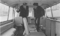 "интерьер ЗИЛ 118 ""Юность"" реанимобиль, 1965 (ZIL-118 ""Yunost"" ambulance)"