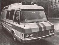 """ЗИЛ 119 """"Юность"""" реанимобиль, 1970 (ZIL-119 """"Yunost"""" ambulance)"""