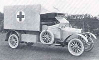 ���������� ��������, 1914 (Vauxhall ambulance, WWI 1914)