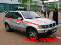BMW_X5 ambulance